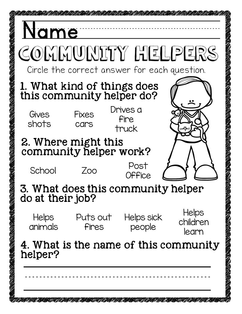 6 Reasons This Community Helpers Pack Is The Best The