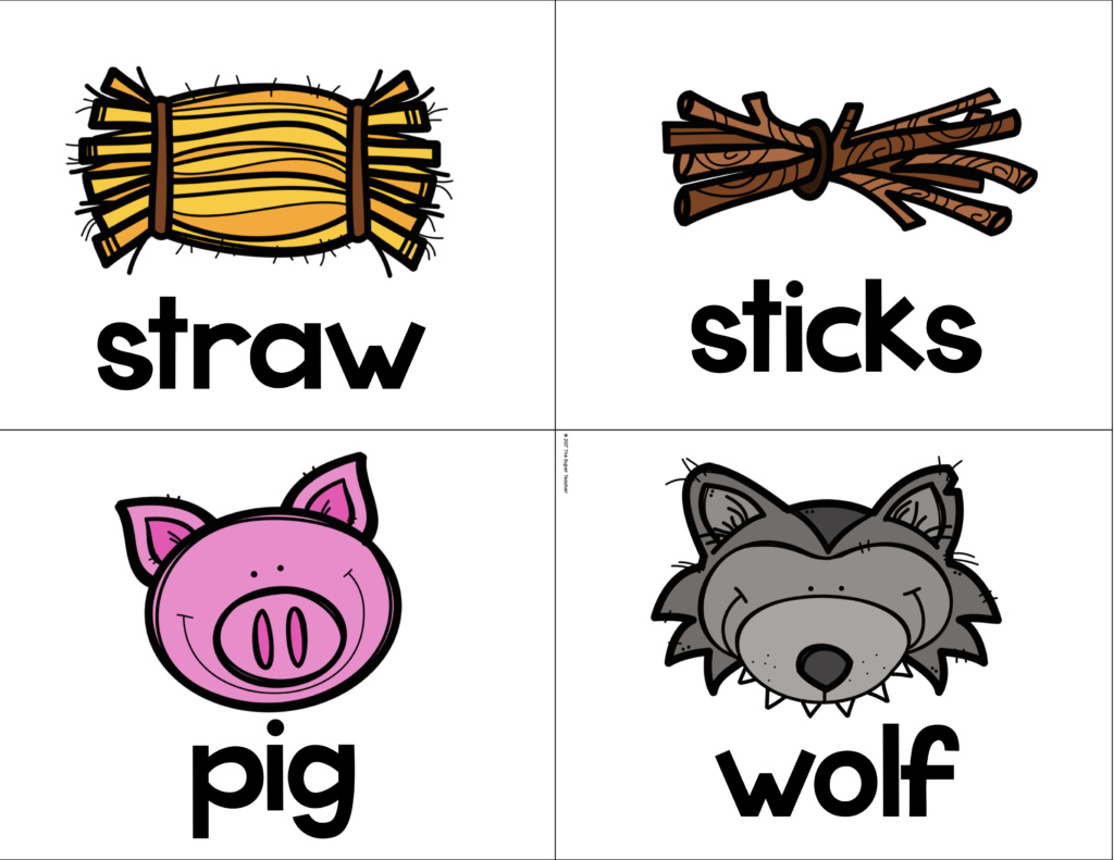 story elements made practical and fun with familiar characters three little pigs clip art images three little pigs clipart black and white